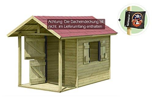spielhaus louis gartenhaus aus holz mit fu boden f r kinder mit terrasse spielzeug. Black Bedroom Furniture Sets. Home Design Ideas