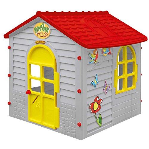 spielhaus f r drinnen und drau en grau spielzeug online. Black Bedroom Furniture Sets. Home Design Ideas
