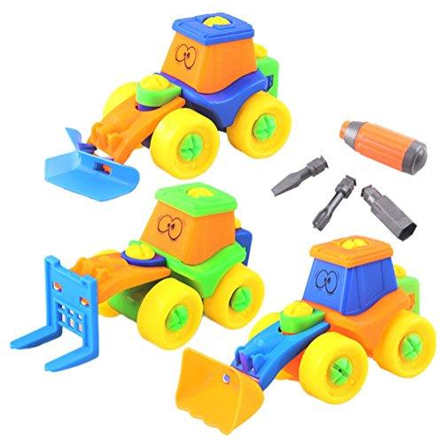 Spielzeug Jungen Ab 5 : dibang baufahrzeuge spielzeug set schraubenspiel montage wagen ab 3 jahren jungen auto ~ Watch28wear.com Haus und Dekorationen