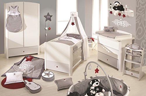 Roba 38101 rsb kinderzimmer komplett set mit 3 trigem for Kinderzimmer bett und schrank