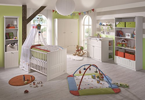 Roba 58701 dream world 2 kinderzimmer komplett set mit 3 for Kinderzimmer bett und schrank