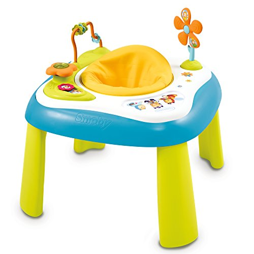 smoby 110205 cotoons youpi baby activity tisch blau spielzeug online. Black Bedroom Furniture Sets. Home Design Ideas